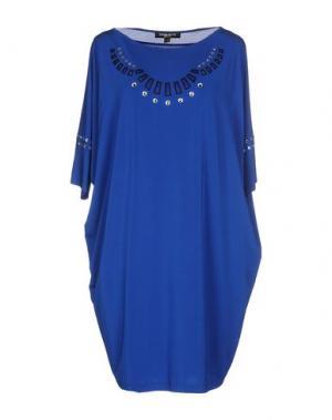 Короткое платье CHIARA D'ESTE. Цвет: ярко-синий