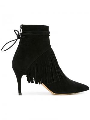 Ботинки Sahar Bionda Castana. Цвет: чёрный