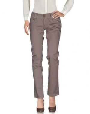 Повседневные брюки PHARD. Цвет: светло-коричневый