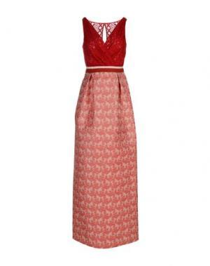 Длинное платье CHRISTIAN PELLIZZARI. Цвет: красный