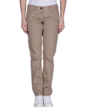 Повседневные брюки ELISABETTA FRANCHI JEANS. Цвет: бежевый