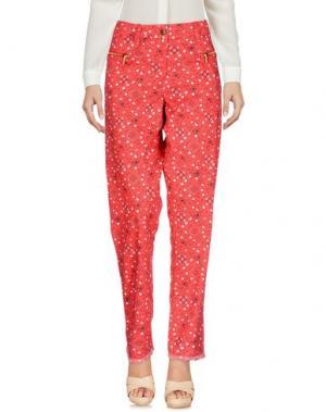 Повседневные брюки MICHEL KLEIN. Цвет: красный