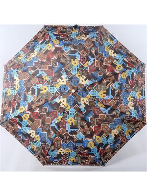 Зонт Zest. Цвет: черный,синий,темно-коричневый,голубой,горчичный