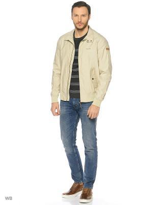 Куртка Tenson. Цвет: темно-бежевый