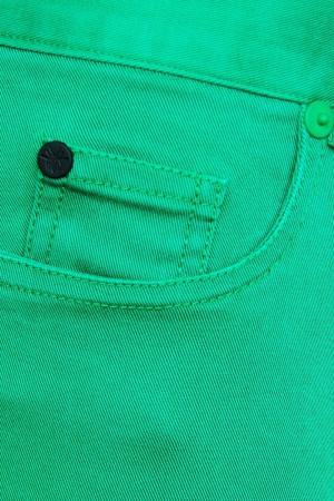 Хлопковые брюки Dior Children. Цвет: зеленый