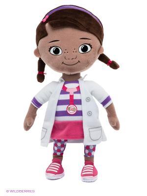 Мягкая игрушка Доктор Плюшева Disney Kids Cars. Цвет: бежевый, белый, темно-коричневый, фиолетовый