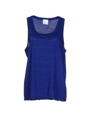 Майка U CLOTHING. Цвет: синий