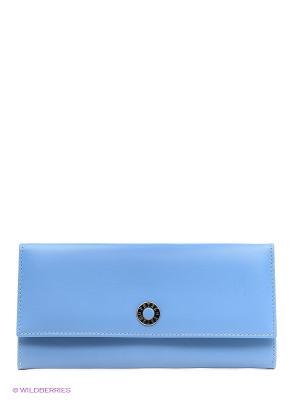 Кошелек Petek. Цвет: голубой