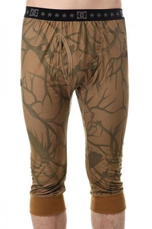 Термобелье (низ)  Bottom Antlers DC Shoes. Цвет: зеленый
