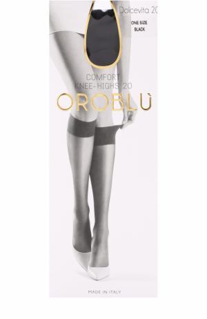 Капроновые гольфы Oroblu. Цвет: черный