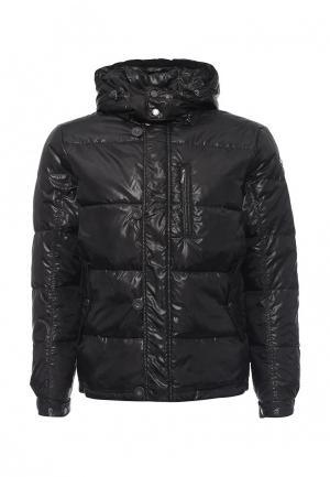 Куртка утепленная Egon Von Furstenberg. Цвет: черный