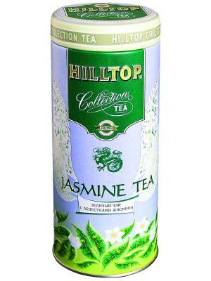 Чай Hilltop Collection Жасминовый в ж/б 100 гр.. Цвет: зеленый