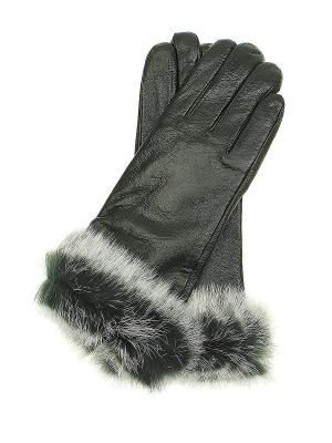 Перчатки Gusachi. Цвет: зеленый, белый