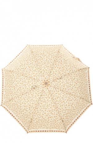 Зонт Moschino. Цвет: бежевый