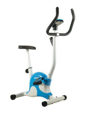 Велотренажер STARFIT BK-201 Basic, ременной. Цвет: синий