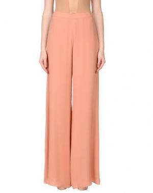 Повседневные брюки GAI MATTIOLO. Цвет: пастельно-розовый