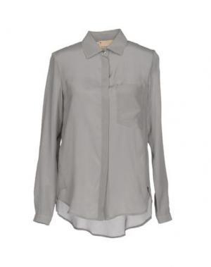 Pубашка GARAGE NOUVEAU. Цвет: серый