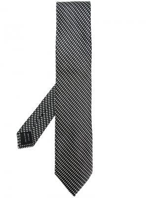 Patterned tie Tom Ford. Цвет: чёрный
