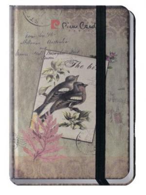 Еженедельник A6 Pierre Cardin шелковая твердая обложка 100 листов. Цвет: коричневый
