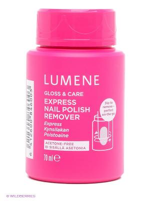 Экспресс-средство для снятия лака Lumene Gloss & Care, 70 мл. Цвет: прозрачный