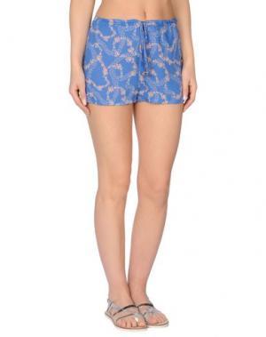 Пляжные брюки и шорты WILDFOX. Цвет: лазурный