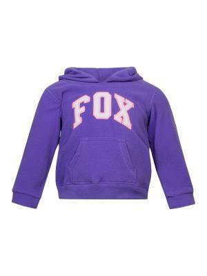 Худи FOX. Цвет: темно-фиолетовый