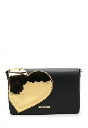 Сумка Love Moschino. Цвет: черный