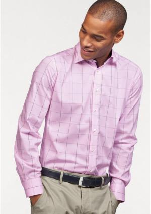 Рубашка Class International. Цвет: розовый в клетку