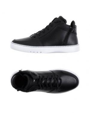 Высокие кеды и кроссовки CREATIVE RECREATION. Цвет: черный