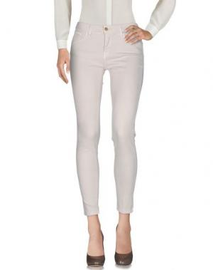 Повседневные брюки BLUEFEEL by FRACOMINA. Цвет: бежевый
