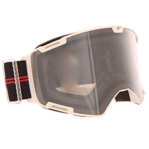 Маска для сноуборда  Crew Mtb Black Silver/Smoke I/S Eyewear. Цвет: белый,черный