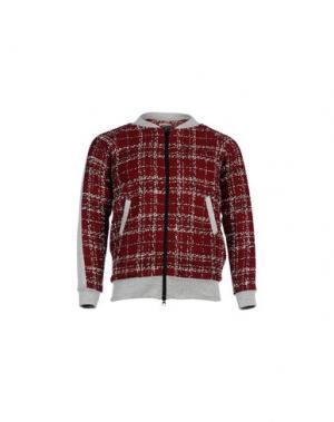 Куртка AMARANTO. Цвет: красно-коричневый