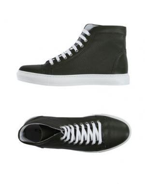 Высокие кеды и кроссовки EXIBIT. Цвет: зеленый