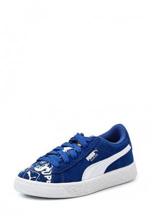 Кеды Puma. Цвет: синий