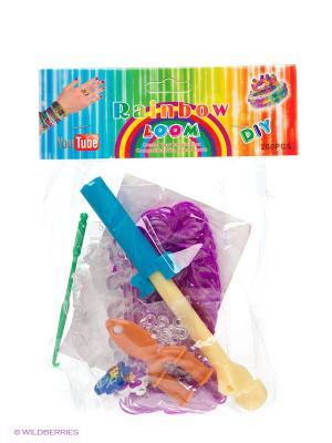 Набор для плетения Loom Bands. Цвет: фиолетовый