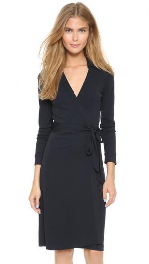 Платье-халат New Jeanne Two Diane von Furstenberg. Цвет: темно-синий