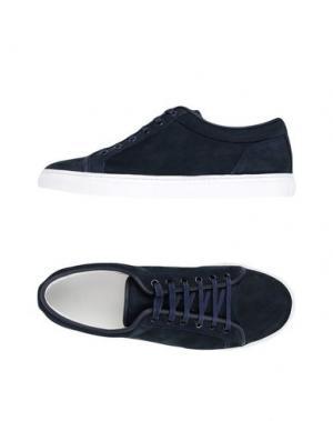 Низкие кеды и кроссовки ETQ AMSTERDAM. Цвет: темно-синий