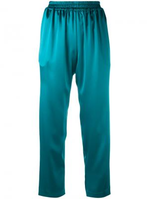 Relaxed cropped trousers Gianluca Capannolo. Цвет: синий