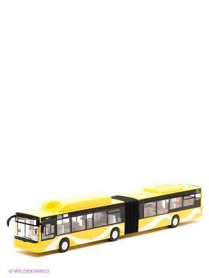 Автобус Городской Пламенный мотор. Цвет: желтый