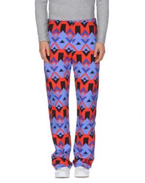 Повседневные брюки PHARMACY INDUSTRY. Цвет: синий