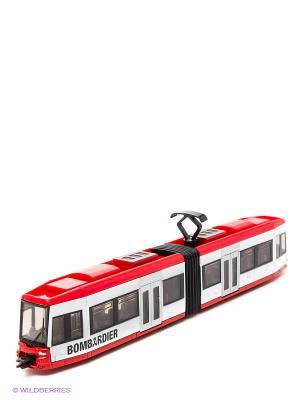 Трамвай SIKU. Цвет: красный
