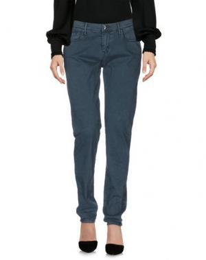 Повседневные брюки OAKS. Цвет: зеленый