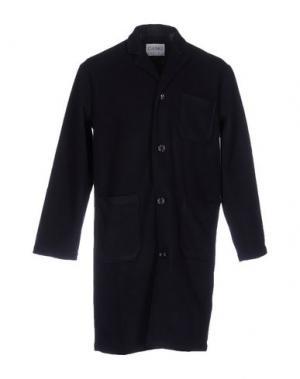 Легкое пальто CAMO. Цвет: темно-синий