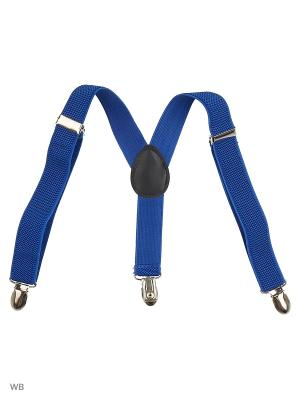 Подтяжки Stilmark. Цвет: синий
