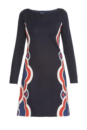 Платье из шерсти 177272 Andrea Turchi. Цвет: разноцветный