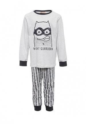 Пижама Brums. Цвет: серый