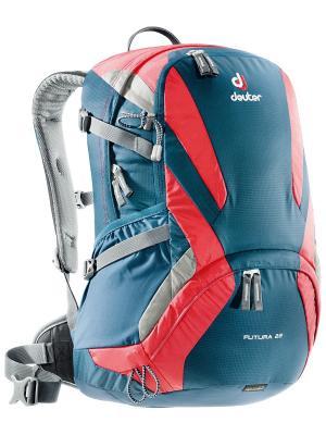 Рюкзак Aircomfort Futura Deuter. Цвет: антрацитовый, красный