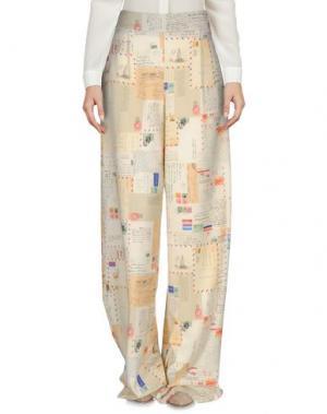 Повседневные брюки ULTRA'CHIC. Цвет: бежевый