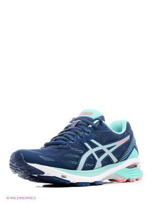 Спортивная обувь GT-1000 5 ASICS. Цвет: белый, синий, серебристый