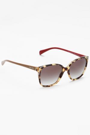 Очки солнцезащитные Prada. Цвет: 7s00a755